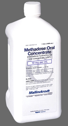 Methadose methadone oral concentrate 10mg/ml