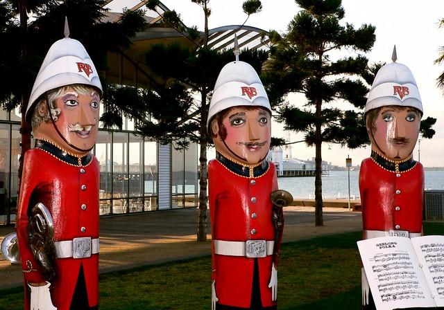 The Bandsmen. Geelong Australia