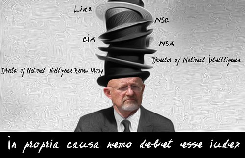 THE MANY HATS OF JAMES CLAPPER by WilliamBanzai7/Colonel Flick