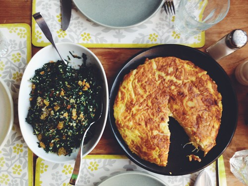 One year ago: Leek, Chard and Corn Flatbread