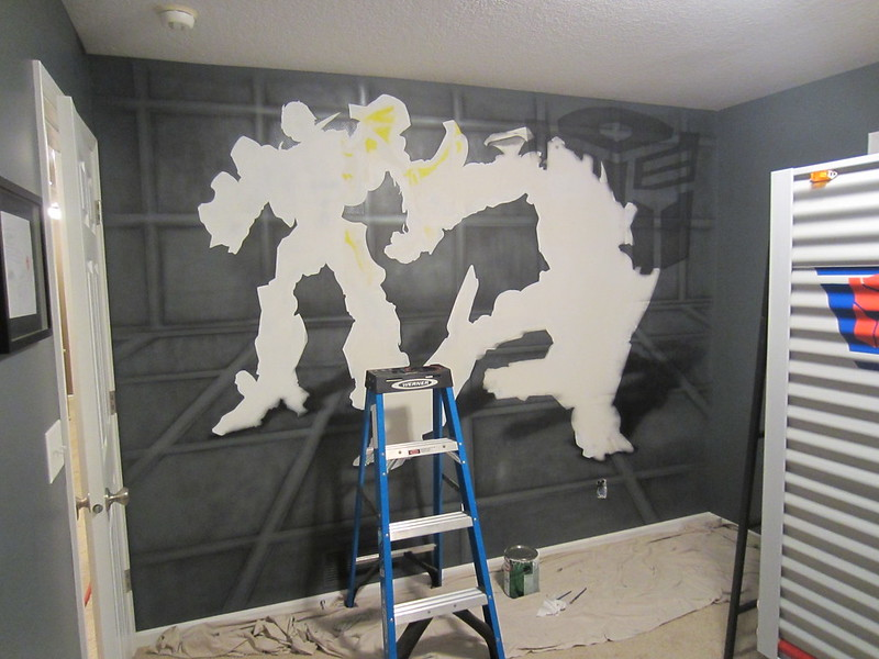 Brayden's Transformer Room In-Progress - (Dave Schaeffer)