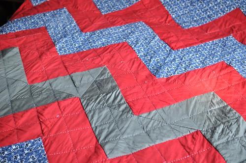 zigzag quilt