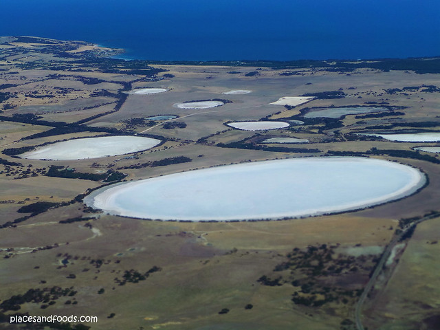 salt lakes in Kangaroo island
