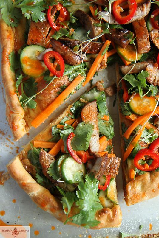 Bahn Mi Pizza