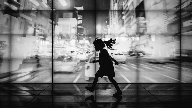 City runner.