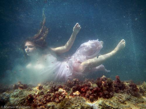 Underwater dress
