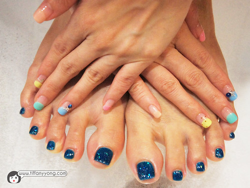 manicure and pedicure design