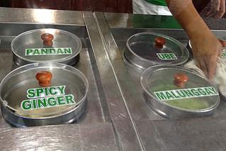 Bohol - Ice Cream flavors