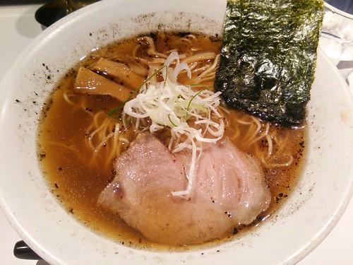 ra130918不如帰 そば(醤油) 肉めし