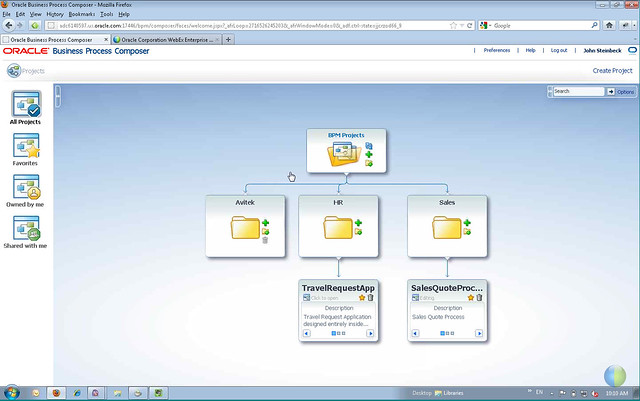 Oracle BPM 11g 2013 - BPM Composer