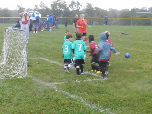 1st Soccer Game 2013