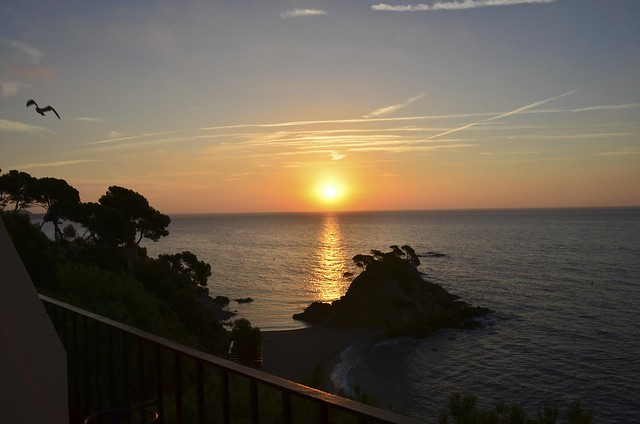 Sunrise in Costa Brava