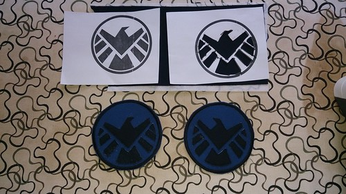 Agent of SHIELD patches