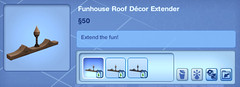 Funhouse Roof Decor Exterior