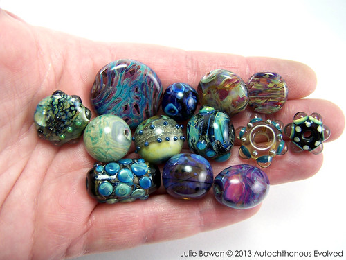 eBay Destash (80) handmade lampwork beads
