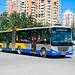[Buses in Beijing]京华 Jinghua BK6180D2 北京公交集团 BPT #84828 Line 621 Front-right at Beiyuanjiayuan