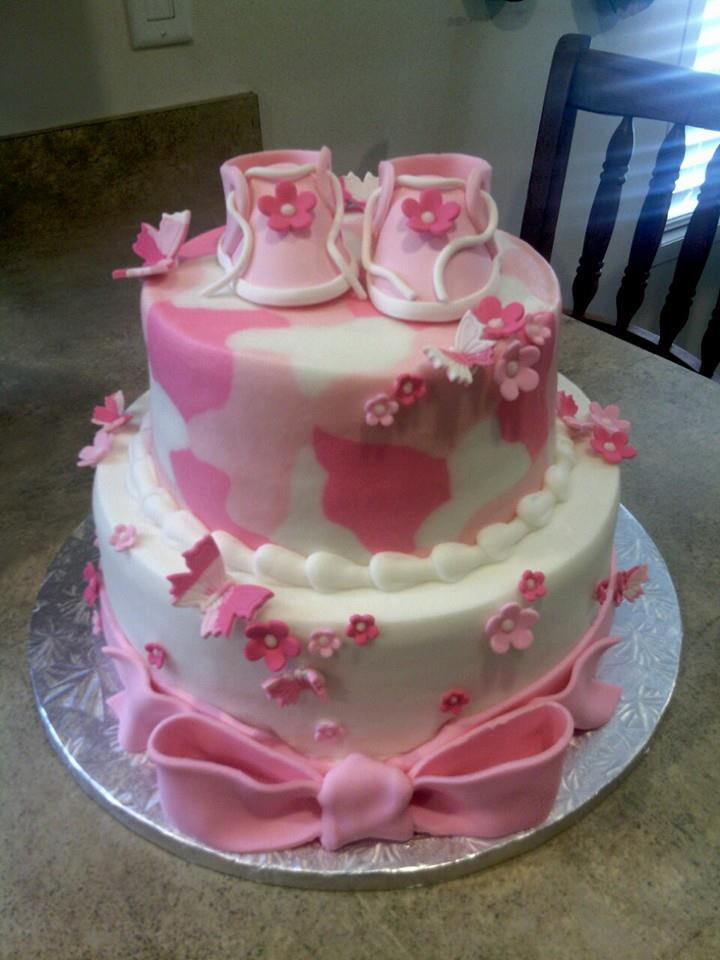 Pink Camo Baby Shower Cake Flickr Photo Sharing