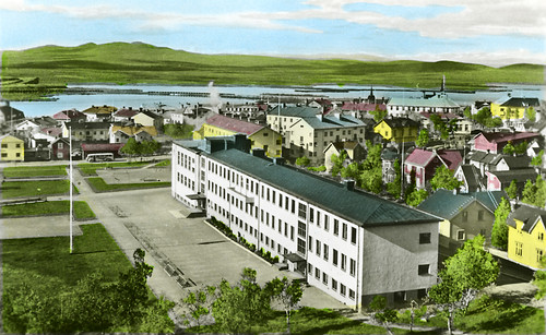 The senior high school in Kiruna, Lappland, Sweden