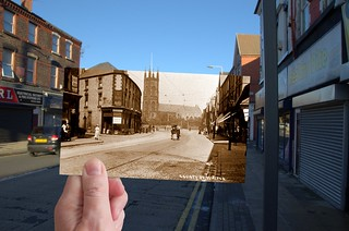 County Road, Walton, 1890s in 2013