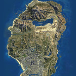 GTA V satellite view map