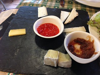 Knockdrinna Cheese sampler