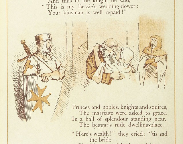 Image taken from page 142 of 'The Merry Ballads of the Olden Time, illustrated in pictures & rhyme'