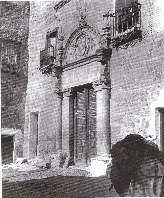 Palacio de Munárriz hacia 1900. Fotografía de Rodríguez