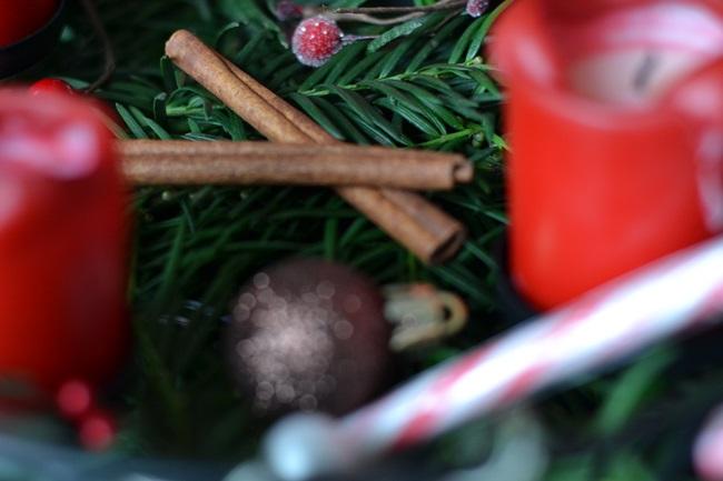 Christmas Adventskranz selbst gemacht (2)