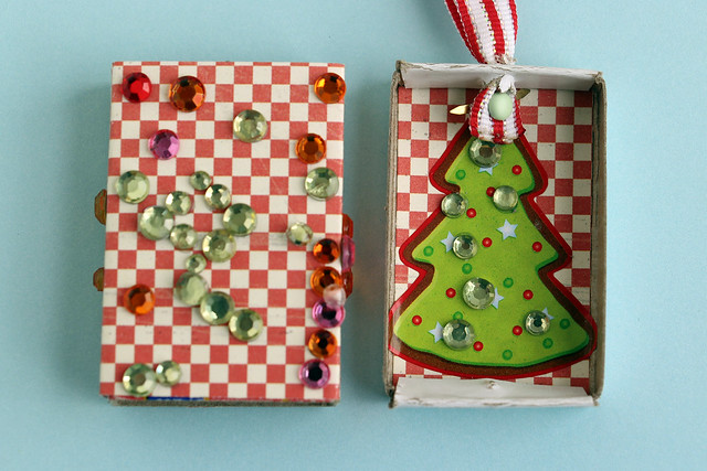 How To Make Matchbox Ornaments Wendolonia