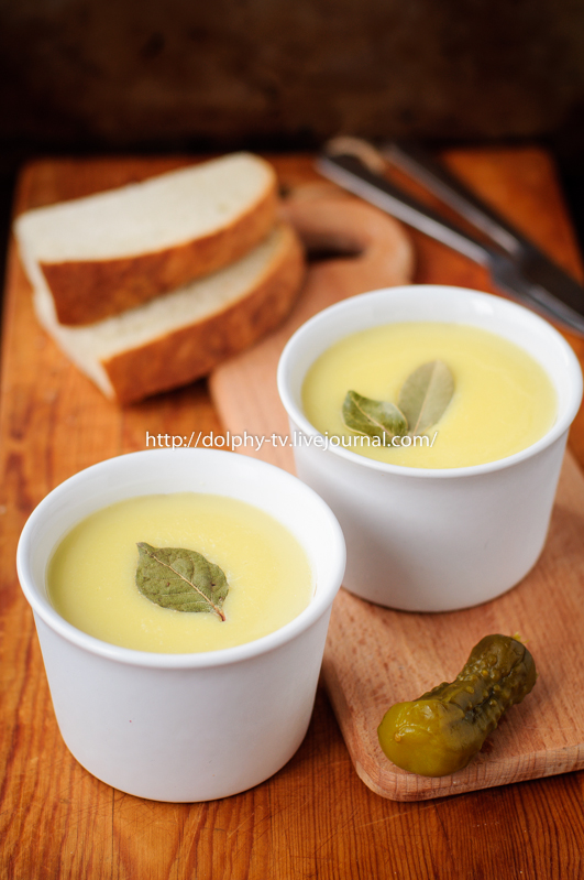 Baked Chicken Liver Pate Topped with Melted Butter, vintage effect
