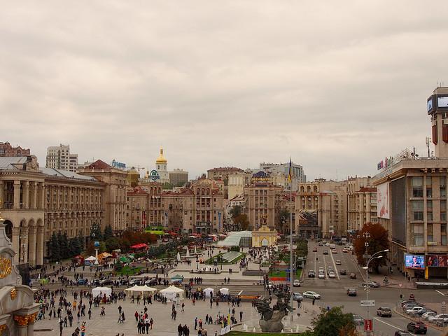 Maidan Nezalezhnosti by CC user 26781577@N07 on Flickr