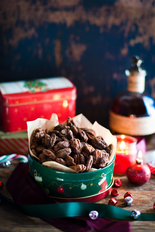 Bourban Kissed Spicy Pecans 2