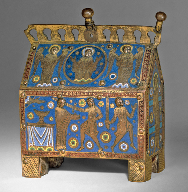 Reliquary Chasse with Scenes of the Martyrdom of Thomas Becket