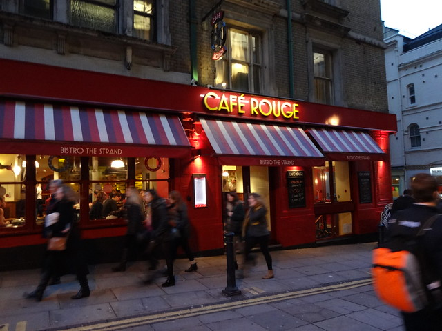 Café Rouge, near Charing Cross 1