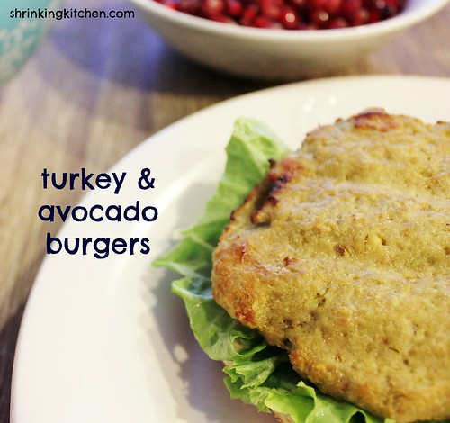 turkey and avocado burgers
