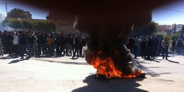 Protesters Clash With Police in Kasserine and Thala