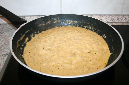 45 - Sauce reduzieren lassen / Let sauce reduce