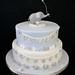 Tyler George's Christening Cake ..... by abbietabbie