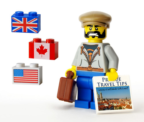 Have Flags, Will Travel by customBRICKS