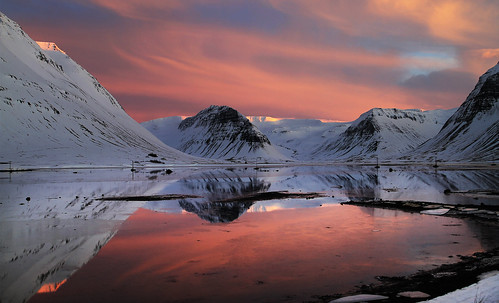 Late Afternoon Light Show by Sverrir Thorolfsson