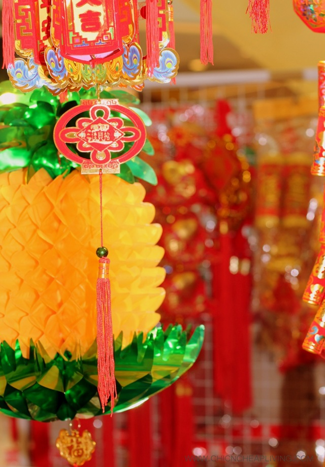Chinese New Year decor by Chic n Cheap Living