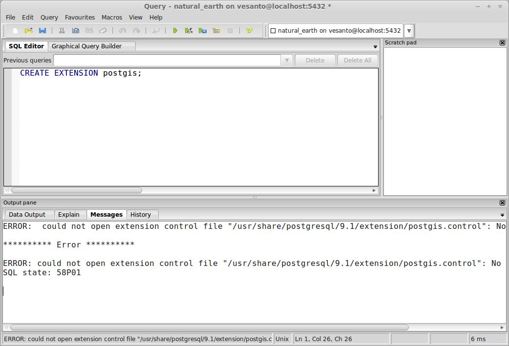 Setting up PostgreSQL and PostGIS on Linux Mint | GIS for