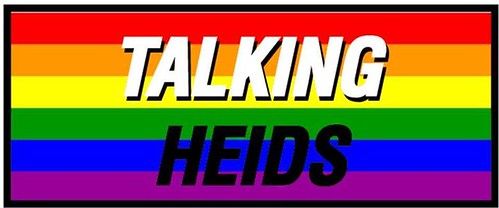 On Tuesday 25th, Talking Heids will be a rainbow of words as it marks LGBT History Month
