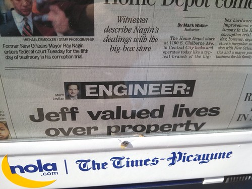 Jeff Valued Lives Over Property