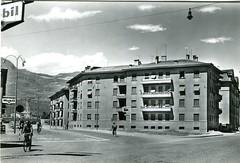 postcard - bolzano - via roma - 1960