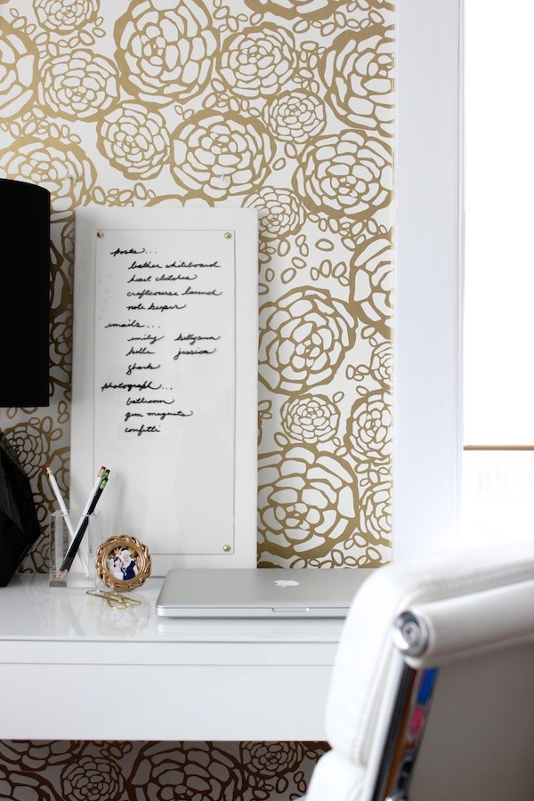 Fabric Paper Glue | DIY Leather Dry Erase Board