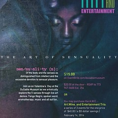 "have my date for tomorrow - the #duSable #Museum! will be #livepainting some sexy shit for ""the art of sensuality event"" #valentinesday"
