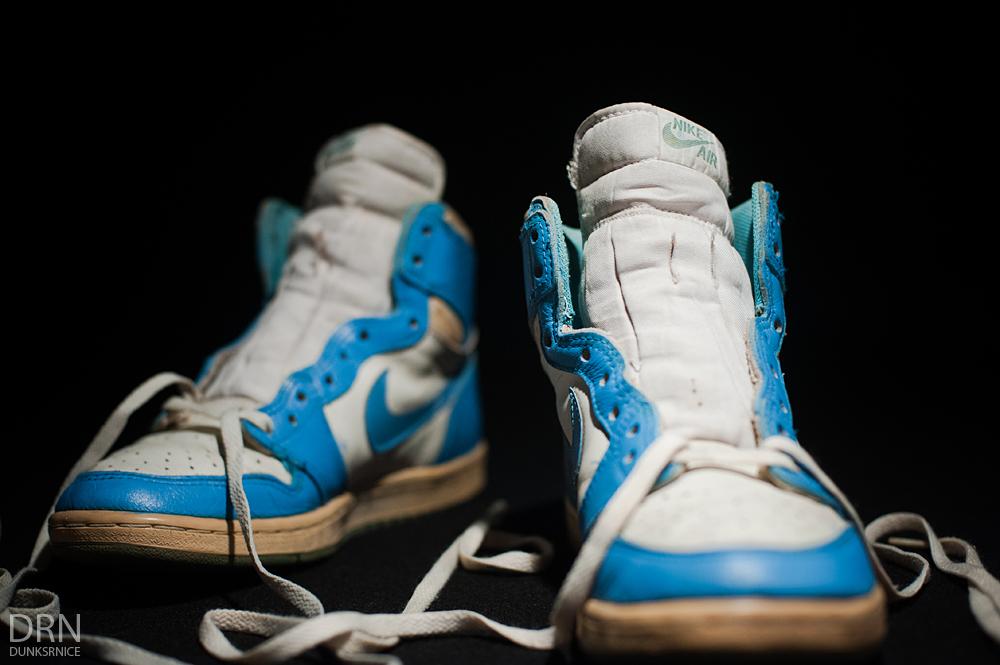 1985 Carolina Blue/White I's.