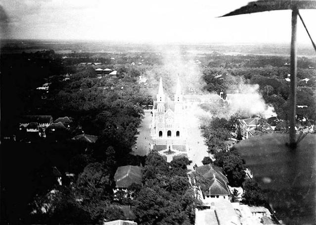 La Cathédrale (vue d'avion)