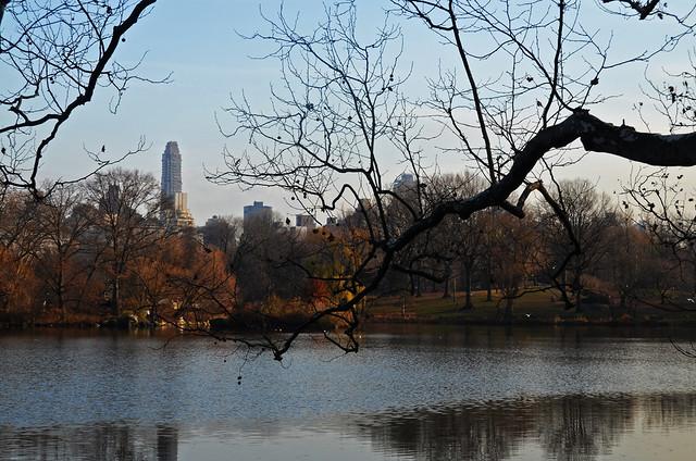 Rinconcito de otoño dentro de Central Park
